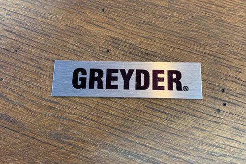 Yapışkanlı Metal Etiket