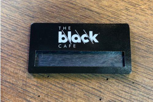 Cafe Çalışanları Metal Yaka İsimliği